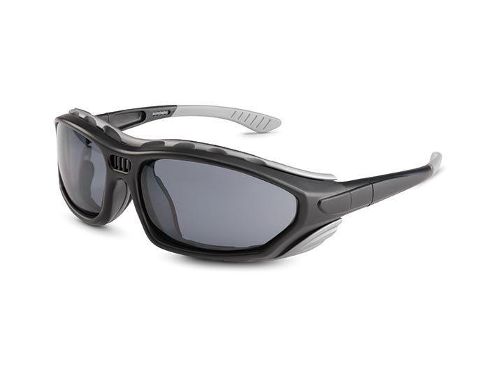 655f8c56dba mega-smoke mega-clear. N-Fog+  Adjustable temple  Converts from glasses to  goggles  ANSI Z87.1+ ...